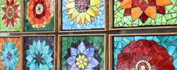 Kasia Mosaics Flower Designs