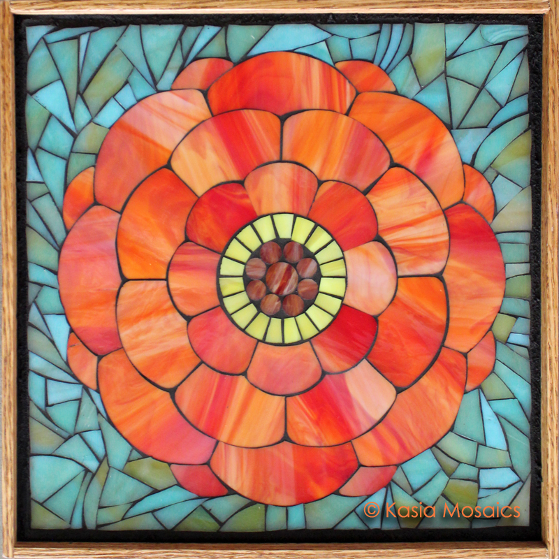 Flower mosaic patterns images for Mosaic patterns online