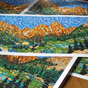 Mosaic Art Prints
