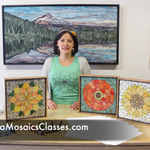 Online Stained Glass Mosaic Class