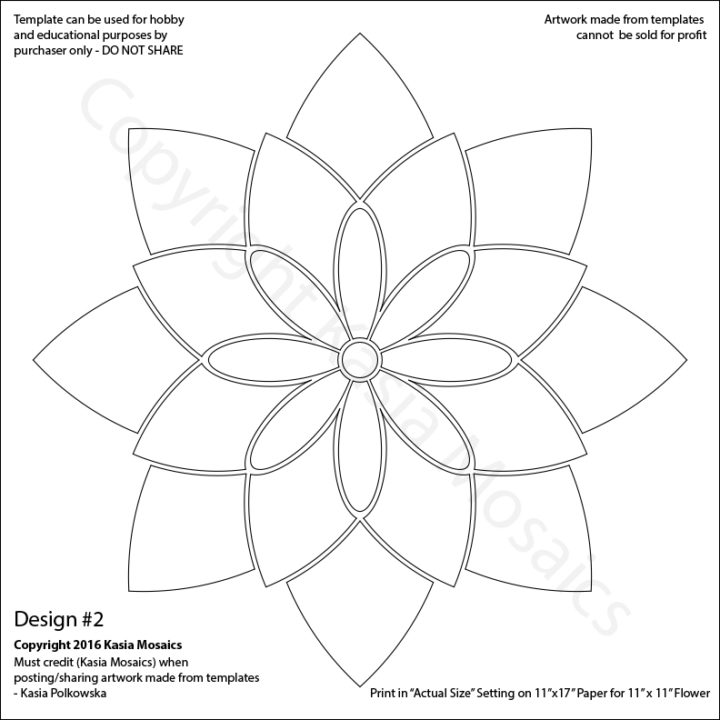 paper lotus flower template - Dorit.mercatodos.co