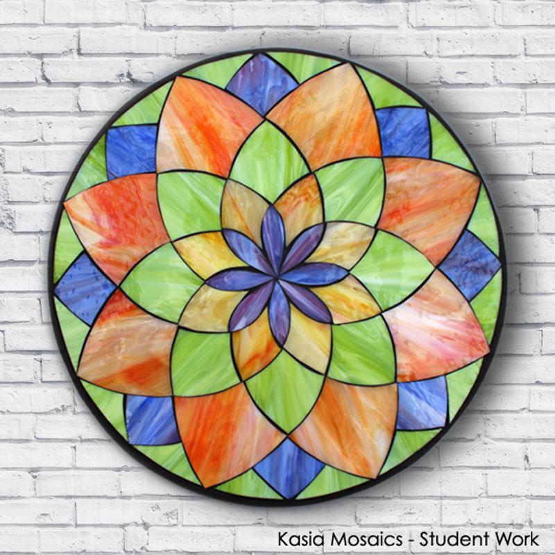 kasia mosaics classes  u00bb template download  mandala design  2