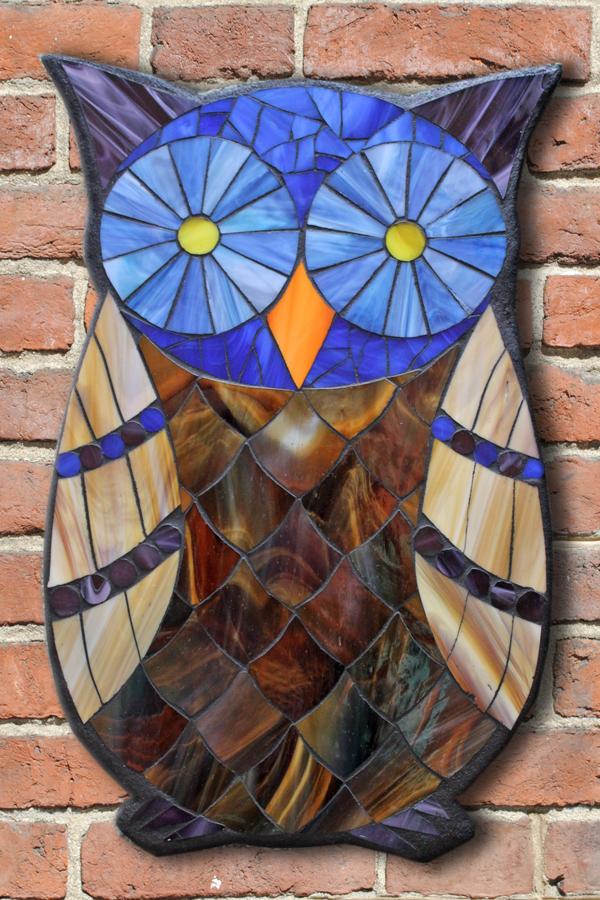 designs for mosaics templates - kasia mosaics classes template download owl design 7