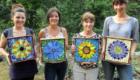 Kasia Mosaics Stained Glass Mosaic Workshop Boulder Colorado July 2014 33