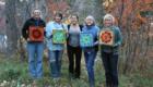 Kasia Polkowska Stained Glass Mosaic Flower Workshop Boulder Colorado 2014 40