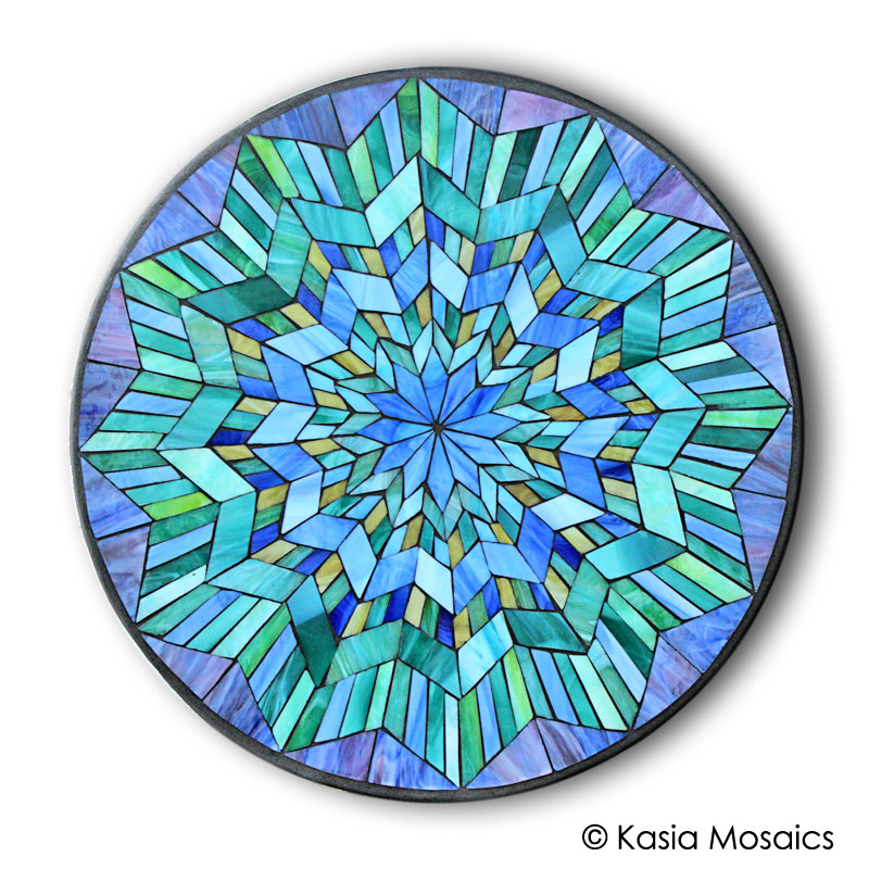 Kasia mosaics classes template download mandala design 4 for Designs for mosaics templates