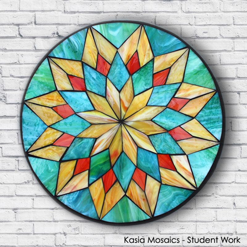 kasia mosaics classes template download mandala design 1