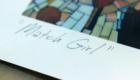 Match Girl Mosaic Signed Poster Art Print