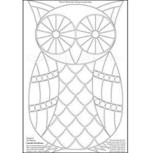 Kasia Mosaics Classes » Product tags » Owl Template